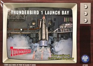 Thunderbird 1 Launchbay - 1:350 scale from Adventures in Plastic/Aoshima