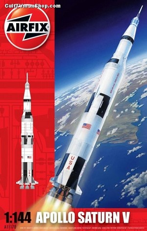 Apollo Saturn V 1:144 scale from Airfix