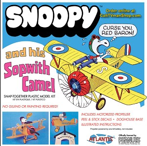 NEW:  Snoopy & his Sopwith Camel reissue from Atlantis