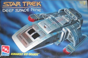 Deep Space Nine Rio Grande Runabout from AMT SCRATCH AND DENT