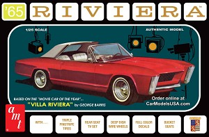 1965 Buick Riviera (George Barris) 1:25 from AMT/Round 2