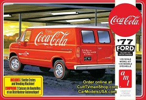 1977 Ford Delivery Van with Vending Machine 1:25 from AMT/Round 2