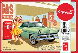 1953 Ford Victoria Hardtop with Coke Machine 1:25 from AMT/Round 2