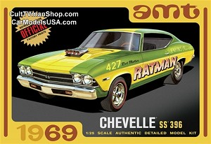 1969 Chevy Chevelle Hardtop 1:25 from AMT/Round 2