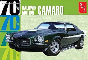 1970 1/2 Baldwin Motion Camaro 1:25 from AMT