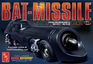 Batman Batmissile reissue from Round 2/AMT