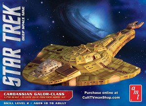 Cardassian Galor reissue from AMT/Round 2