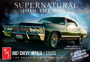 Supernatural 1967 Chevy Impala 4 door - 1:25 from AMT/Round 2