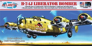 B-24J Bomber Buffalo Bill with Swivel Stand 1:92 scale - Revell reissue from Atlantis