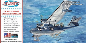 PBY-5A Catalina US Navy Seaplane  1:104 - Monogram reissue from Atlantis