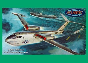 P6M Seamaster with Swivel Stand 1:136 - Revell reissue from Atlantis - PREORDER RESERVATION