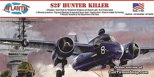 S2F Hunter Killer US Navy 1:54 - Aurora reissue from Atlantis