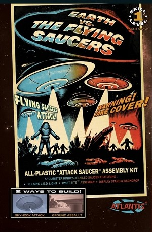 Earth Vs The Flying Saucers - Silver 2nd Edition from Atlantis