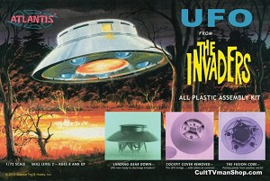 Invaders UFO Aurora reissue from Atlantis