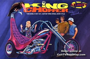 Tom Daniel's King Chopper II - 1:8 scale - Revell reissue from Atlantis