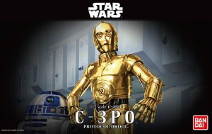 C-3PO 1:12 scale kit from Bandai