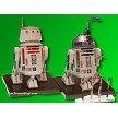 R2-D2 and R5-D4  built figures