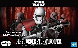 First Order Stormtrooper - The Rise Skywalker - 1:12 - from Bandai