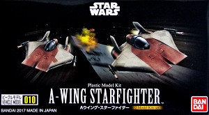 A-Wing mini-kit set 010 from Bandai
