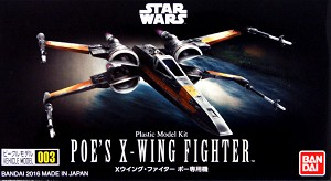 Star Wars Poe's X-Wing mini-kit 003 from Bandai