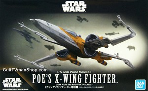 Poe's X-Wing with R2-D2 - The Rise Skywalker - 1:72 - from Bandai