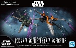 The Rise of Skywalker X-Wing Set - 1:144 scale - from Bandai