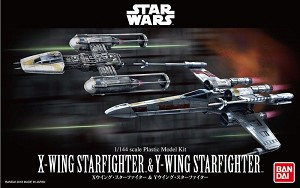 X-Wing & Y-Wing 1:144 scale  2-pack from Bandai