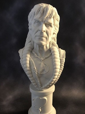 The Galactic Villain - MicroMania Bust from Black Heart