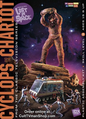 Lost in Space: Cyclops and Chariot - 1:35 and 1:48 scale from Doll and Hobby