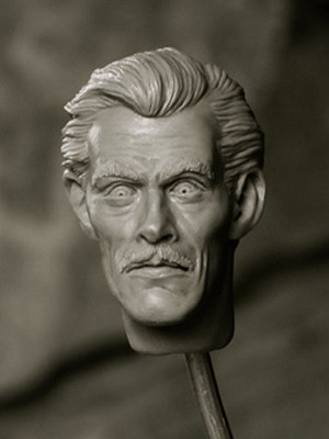 Carradine Dracula replacement head from Dedham Pond Designs