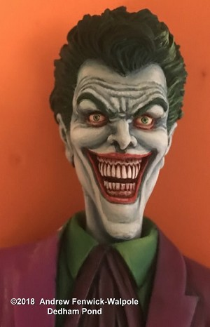 Comic Clown replacement head from Dedham Pond Designs