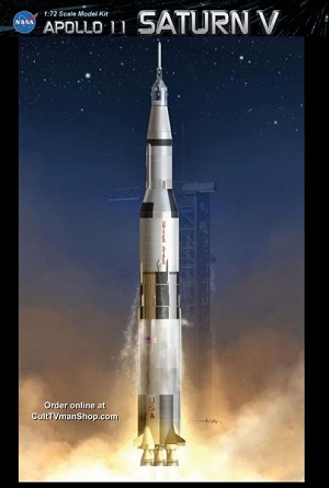 Apollo 11 Saturn V 1:72 KIT from Dragon - $139.99 -  PREORDER RESERVATION ($50 non-refundable deposit required)
