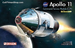 Apollo 11 CSM 1:48 model kit from Dragon Models - PREORDER RESERVATION