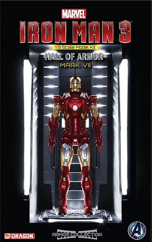 Iron Man Hall of Fame Mk VII - 1:9 scale from Dragon