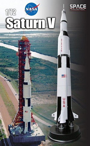 Apollo Saturn V 1:72 scale display miniature from Dragon Models