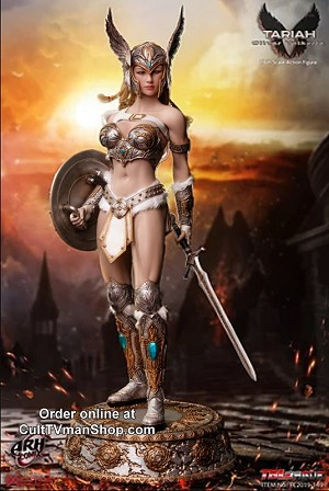 Tariah Silver Valkyrie  - Premium 1:6 action figure from Executive Replicas - PREORDER RESERVATION ($50  deposit)