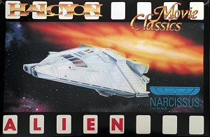 Alien Narcissus 1:144 scale from Halcyon  OPEN BOX KIT