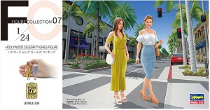 Hollywood Celebrity Girls  1:24 scale from Hasegawa
