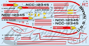 Defiant NCC decals 1:420 from JTGraphics