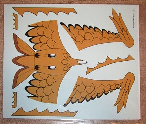 Classic Bird of Prey replacement decal from JTGraphics