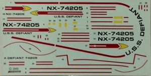 Defiant NX decals 1:420 from JTGraphics