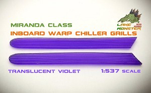Reliant Warp Chiller Grills (violet) - 1:537  from Lake Monster Parts