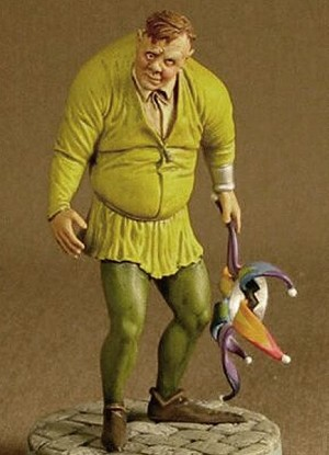 The Hunchback - MicroMania figure from Black Heart