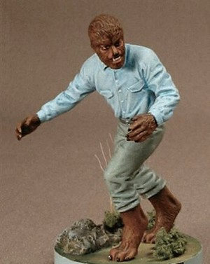 The Werewolf- MicroMania figure from Black Heart