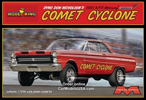 Dyno Don Nicholson's 1965 Comet Cyclone 1:25 from Model King/Moebius