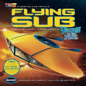 Flying Sub improved reissue  - 1:32 scale from Moebius Models