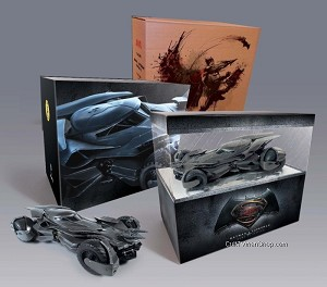 Batman v. Superman Batmobile DISPLAY model - SDCC exclusive from Moebius Models