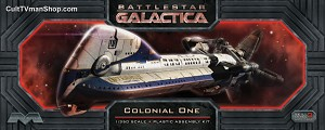 Colonial One - Battlestar Galactica from Moebius