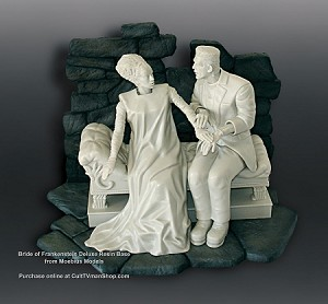 Deluxe Stone Base for the Bride from Moebius