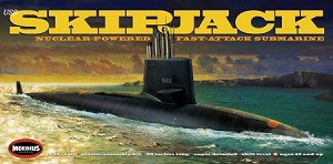 Skipjack Submarine 1:72 scale  from Moebius Models